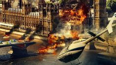 London Has Fallen 2016 London Has Fallen Movie, Fall Begins, Gerard Butler, Yesterday And Today, Fall 2016, Good Movies, I Movie, Britain, England