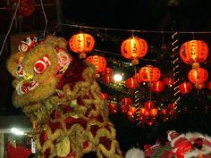 El Dragón Chino para el año nuevo