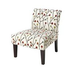 Avington Armless Slipper Chair - Whimsical Quick Information from Target - for the sunroom?