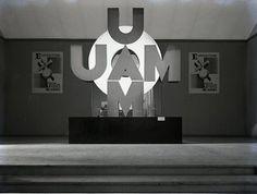 Entrée de la 3e exposition de l'Union des artistes moderne, Pavillon de Marsan, musée des Arts décoratifs Jean Collas  1932
