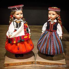 Байба Паолка в национальном костюме / Paola Reina, Antonio Juan и другие испанские куклы / Бэйбики. Куклы фото. Одежда для кукол