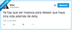 Con una ya basta, gracias por @diostuitero   Gracias a http://www.vistoenlasredes.com/   Si quieres leer la noticia completa visita: http://www.estoy-aburrido.com/con-una-ya-basta-gracias-por-diostuitero/