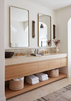 Bathroom Interior Design, Modern Interior Design, Scandinavian Modern Interior, Modern Bathroom Design, Minimal Bathroom, Neutral Bathroom, Earthy Bathroom, Colorful Bathroom, Natural Modern Interior