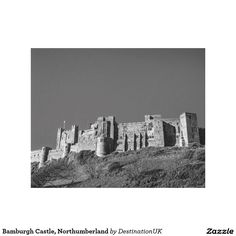 Bamburgh Castle, Northumberland Gallery Wrap Canvas