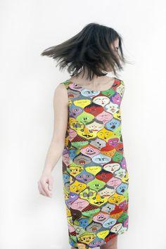 Faces linen dress by Jain&Kriz. 100% linen.