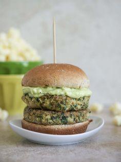 Greens and beans veggie burger recipe