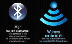 Humor: Men are like Bluetooth, Women are like Wi-Fi Death Quotes, Sad Quotes, Boss Quotes, Nice Quotes, Interesting Quotes, Greek Quotes, Random Quotes, Awesome Quotes, Daily Quotes