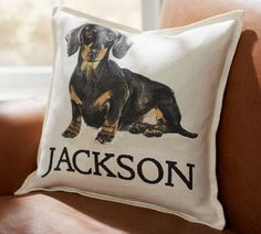 Personalized Dog Pillow Covers | Pottery Barn