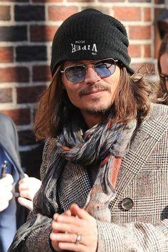sunnies - Johnny Depp en gafas de sol Randolph