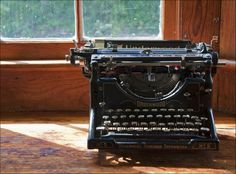 manual typewriters - how I learned to type...feeling really old right about now....
