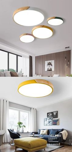 Is Bulbs Included: Yes Usage: Daily lighting Switch Type: Touch On/Off Switch Number of light sources: > 20 Body Material: Ironware + Acrylic Application: Foyer Application: Bathroom Application: Bed Room Application: Study Application: Kitchen Application: Dining Room Technics: Painted Model Number: GL-7008 Features: oak wood, metal, multicolors Item Type: Ceiling Lights Finish: Iron Lighting Area: 5-10square meters Install Style: Surface mounted Light Source: LED Bulbs Is Dimmable: Yes