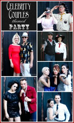 Celebrity couples themed party - Ask Anna