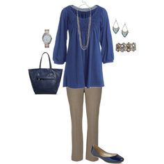 A fashion look from July 2015 by jmc6115 featuring maurices, Under One Sky, Michael Kors, plussize and careerwear