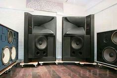 Vintage audio JBL speakers