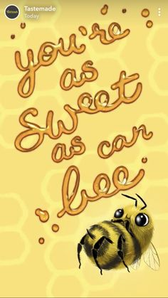 Sweet as can be Funny Food Puns, Food Humor, Cartoon Wallpaper Iphone, Homescreen Wallpaper, Iphone Wallpapers, Sweet Puns, Cheesy Quotes, Adorable Quotes, Cute Love Gif