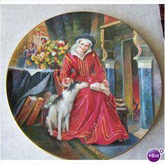Catherine Parr Royal Doulton Collectors Plate PN123