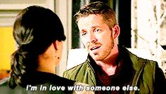 """""""I'm in love with someone else."""" Robin Hood - 6 * 3 """"Rock Road"""" #OutlawQueen"""