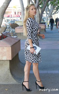 DVF Wrap Dress: How To Wear For Work - fabulous office attire for women...see all pics here --->