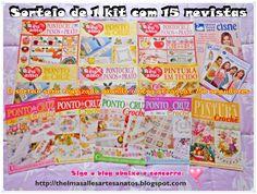 Thelma Salles ღ Artesanatos: Sorteio de 1 kit com 15 revistas