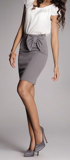 Bow skirt- workwear: