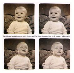 10 months old David Bowie. Diane Arbus, Tu Me Manques, David Bowie Is Exhibition, Roswell Incident, David Bowie Born, The Thin White Duke, 10 Month Olds, Ziggy Stardust, The V&a