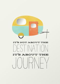 Come for the Journey Art Print