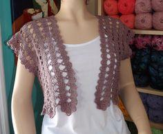 Crochet Cardigan De Verano Parte 1 ༺✿ƬⱤღ✿༻