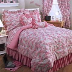 Pink Army Camo Decor