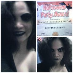 Spooky me!!!! ^_^ How's for every day look?...hahaha!