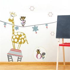 ADzif P0329AJV5 Piccolo Balancing Acts Wall Decal