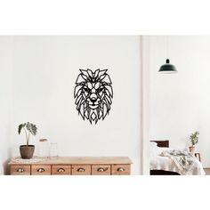Wood Wonders Leeuw Afmeting: 43 x 30 cm Materiaal: MDF 3 mm Kleur: zwart Merk: Wood Wonders Wooden Walls, Lion, Wonders, Creative, Wall Decorations, Home Decor, Products, Black, Wood Walls