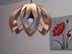 Wooden pendant light Wooden pendant lamp hanging lamp | Etsy Wood Pendant Light, Wood Chandelier, Ceiling Pendant, Pendant Lamp, Wood Veneer, Hanging Lights, Lamp Light, Bulb, Etsy