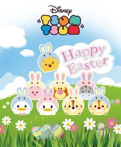 Disney TSUM TSUM Happy Easter