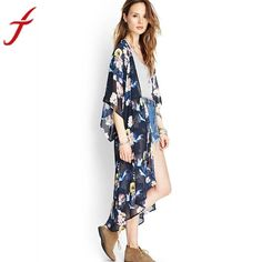 JECKSION Women Chiffon Summer Kimono – Carolina Closeouts