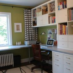 Two Person Office Design Ideas, Pictures, Remodel, and Decor - page 17