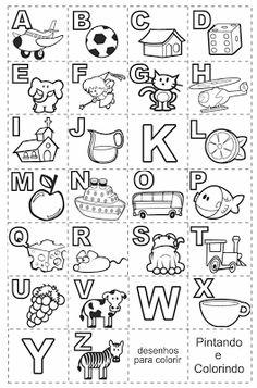 Alfabeto numa folha so - K, W e Y nao tem nada