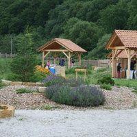 Abenteuerland Pielachtal | Spielplatz | Hofstetten-Grünau Cabin, House Styles, Home Decor, Playground, Adventure, Kids, Decoration Home, Room Decor, Cabins