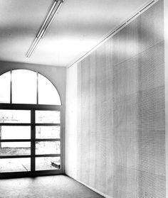 """Installationsansicht Konrad Fischer Galerie: Hanne Darboven """"Drei, fünf, sieben, elf"""", 1968"""