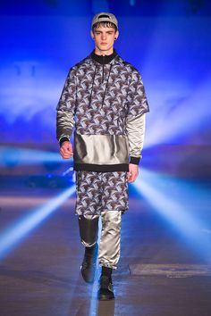 Be prepared to a silver space-invaders style for FW15... Only for fashion conscious boys, from Andrea Crews collection.