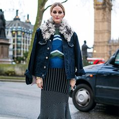 Photo Credit: Phill Taylor Hi everyone! Just finishing up in London and wanted to have some fun dressing up denim. Here I'm in a Zara top and Jonathan Simkhai skirt but it's my Topshop jacket that'...