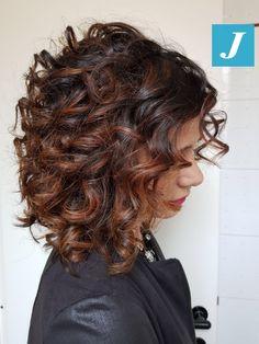 Curly Degradé Joelle! #cdj #degradejoelle #tagliopuntearia #degradé #igers #musthave #hair #hairstyle #haircolour #longhair #ootd #hairfashion #madeinitaly #wellastudionyc