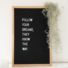 Totally in love with letter boards from The Letter Tribe. Most versatile home decor- letter board for inspirational quotes and motivational messages. Home Quotes And Sayings, Words Quotes, Best Quotes, Funny Quotes, Life Sayings, Light Box Quotes Funny, Word Board, Quote Board, Message Board