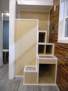 Storage Stairs - Crosswinds by Upper Valley Tiny Homes