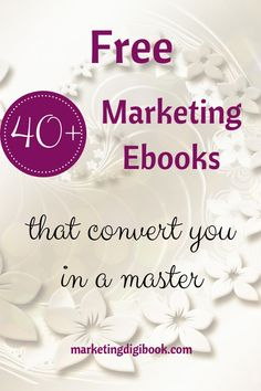 A comprehensive list of free marketing ebooks to help you advance fast and power up your marketing game. Content Marketing Strategy, Small Business Marketing, Social Media Marketing, Business Tips, Online Business, Affiliate Marketing, Online Marketing, Free Market, Influencer Marketing