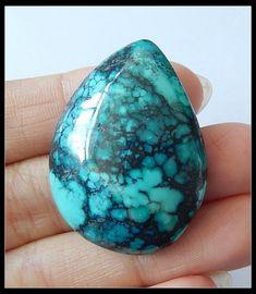 60.5Ct Natural Turquoise Gemstone Cabochons Specimens  turqouise gemstone