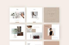 Instagram Creator, Instagram Grid, Social Media Branding, Social Media Design, Instagram Post Template, Social Media Template, Brochure Design, Branding Design, Psd Templates