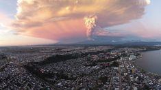 Volcano Calbuco Victor Oyarzun #dronefly #drone #drones #volcano by dronefly