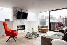 Percy Lane Townhouses by ODOS Architects