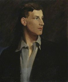 Glyn Warren Philpot : Portrait of Siegfried Loraine Fitzwilliam Museum, University of Cambridge. Most Famous Poems, English Poets, Museum, Art Uk, Your Paintings, Portrait Paintings, Portrait Art, Beauty Art, Figurative Art