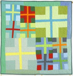 Quilt Inspiration: Free pattern day: Easy Modern Quilts (2)